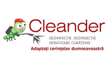 Cleander - Servicii de curățenie, dezinfecție, dezinsecție și deratizare în Cluj-Napoca