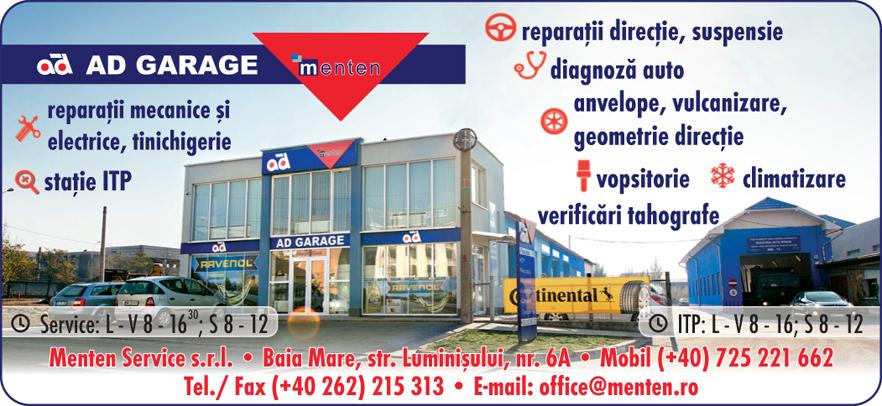 MENTEN SERVICE SRL- AD GARAGE Baia Mare