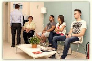 Sala de asteptare Finas Medical