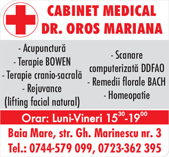 Dr. Oros Mariana - Cabinet Medical de Acupunctura si Homeopatie