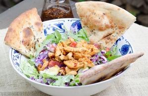 Salată chicken grill (cu piadină)