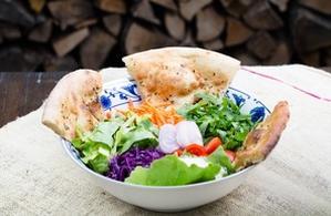 Salată primavera (cu piadină)