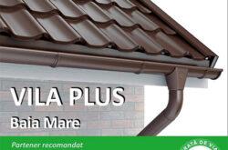 VILA PLUS SRL - Vanzari tigla metalica, Sisteme pluviale
