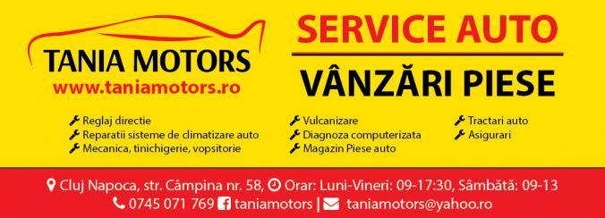 Tania Motors Cluj-Napoca – vanzari piese auto