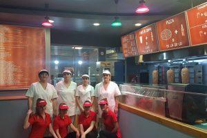 Fast Food EVOLUTION, in noua locatie+ Baia Mare, Piata Millenium, Cladirea Central