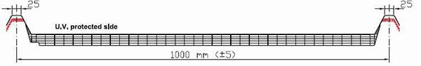 Luminator LIS cu grosime de 30mm U= 1.32W/m<sup>2</sup>K
