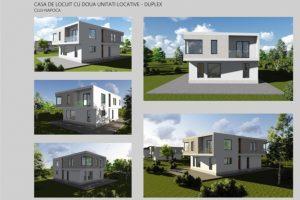 Casa de locuit cu doua unitati locative