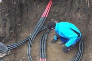 Proiecatre instalatii electrice subterane