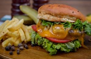 Cheesburger picant