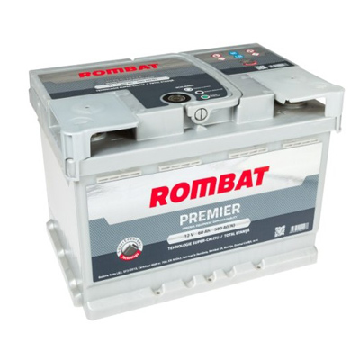 Rombat 12v 50ah Premier 500a 207x175x175