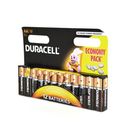 Baterii alcaline Duracell tip R6 pret blister 12buc