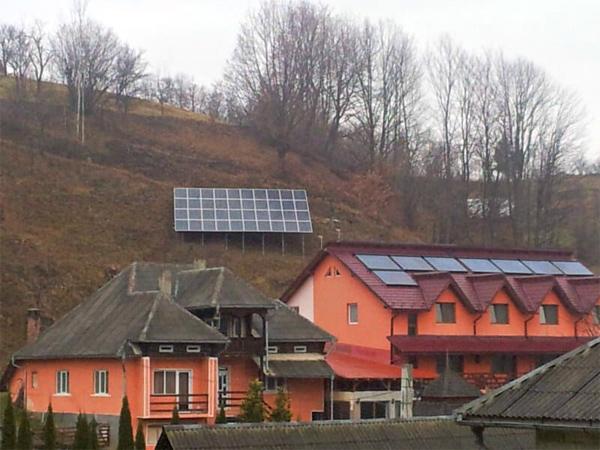 Panouri fotovoltaice Pensiune Glod Maramures - Solarcenter Baia Mare