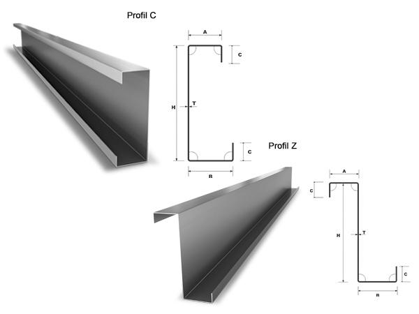 Profile C si Z Bilka - Wood Steel Construct Baia Mare