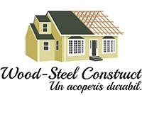 wood steel construct