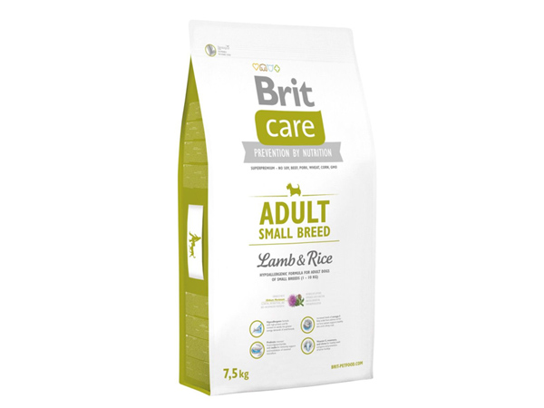 Hrana caini BRIT CARE adult small breed 7,5 kg – ANCAFARMVET Baia Mare
