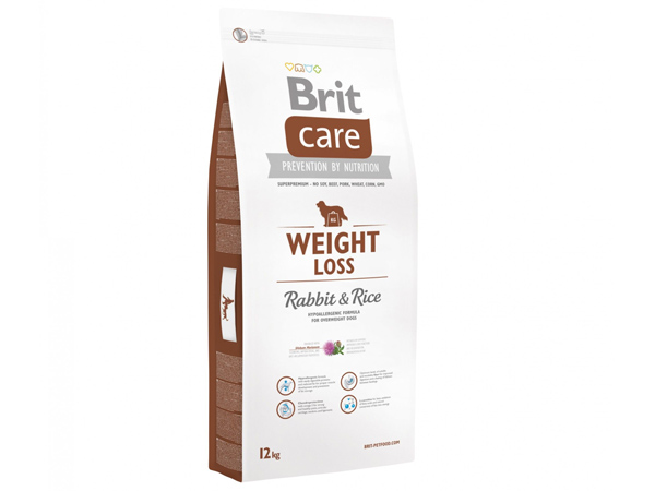 Hrana caini BRIT CARE weight loss 12 kg - Ancafarmvet Baia Mare