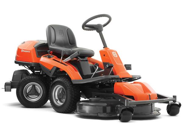 tractor rider tuns gazon R 320 AWD - Bricolage s.r.l. Baia Mare distribuitor Husqvarna