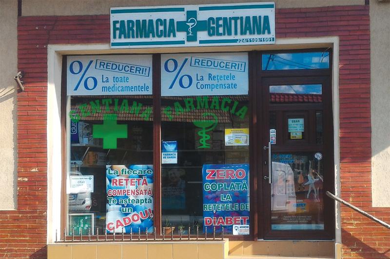 Farmacia Gentiana Baia Mare - Closca 27