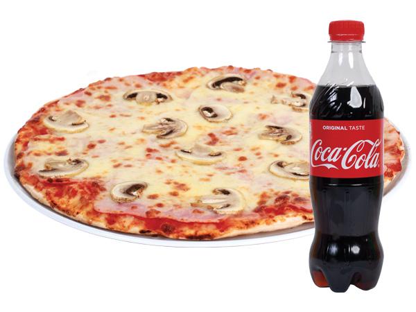 PIZZA PROSCIUTTO E FUNGHI - Fast Food Evolution Baia Mare