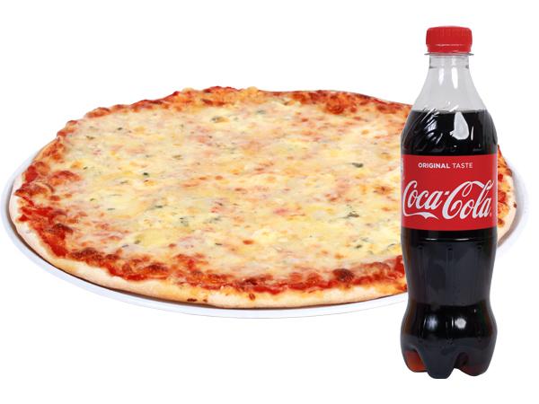 PIZZA QUATRO FORMAGGI - Fast Food Evolution Baia Mare