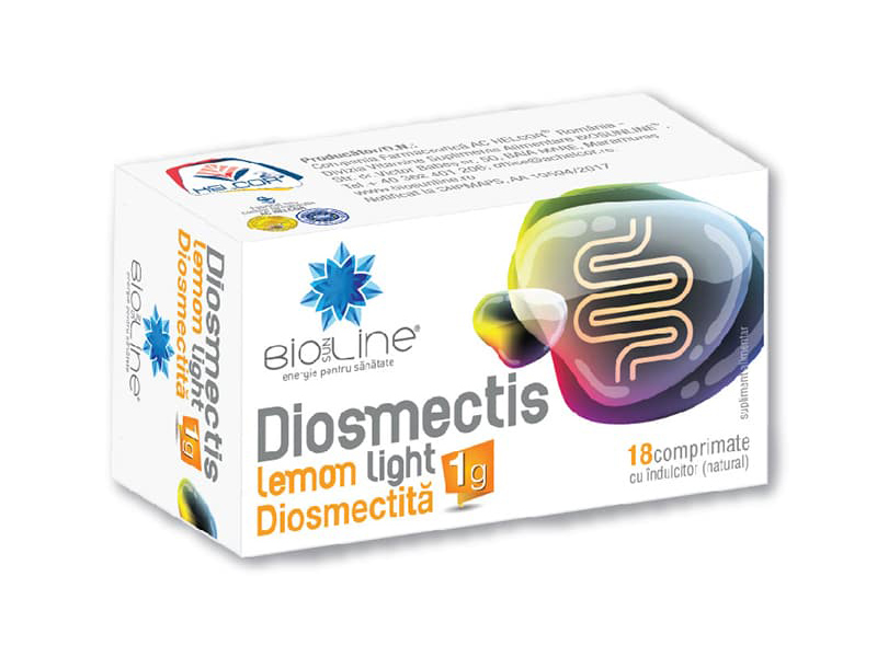 Diosmectita – Diosmectis lemon light