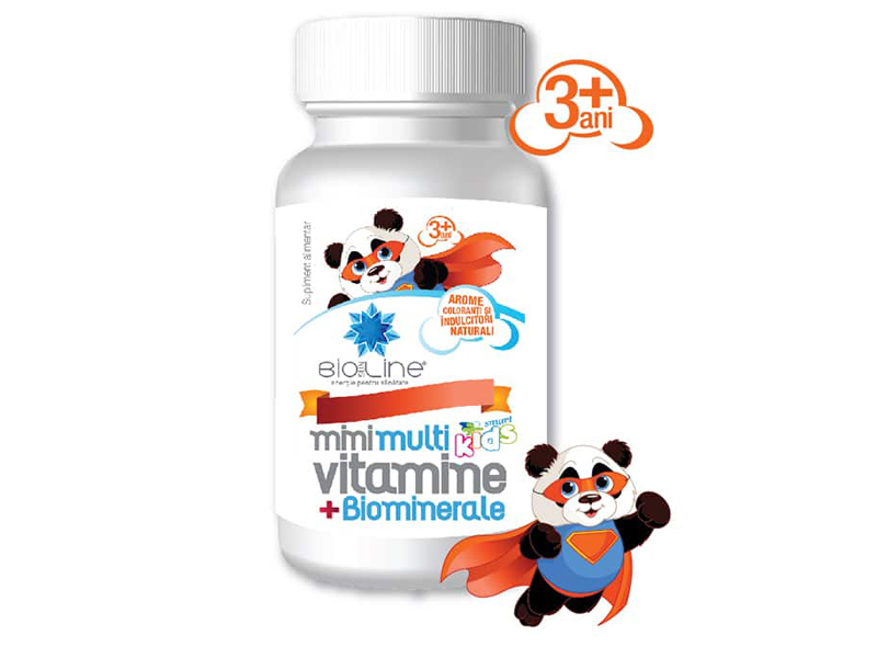 Mini Multivitamine cu Biominerale – ursuleti