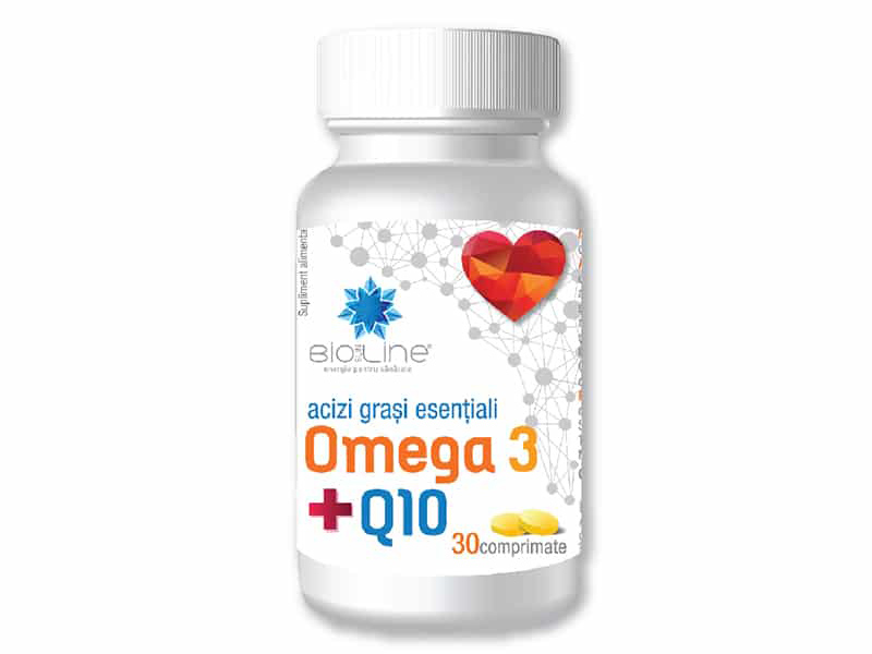 Acizi grasi esentiali Omega 3 Q10