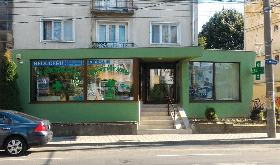 Farmacia Gentiana Baia Mare - Piata Revolutiei 2