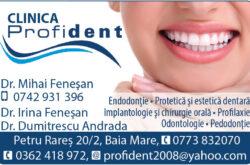 Clinica Stomatologica Profident Baia Mare - Dr. Mihai Fenesan, Dr. Irina Fenesan, Dr. Andrada Dumitrescu