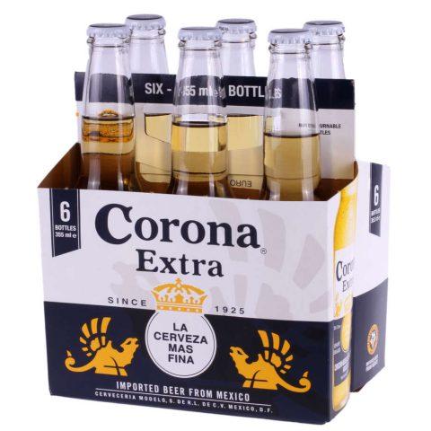 Bere Corona Six Pack - 6 buc - 4,5 % - 0.355 l